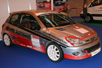 Pre 2005 prepared race car