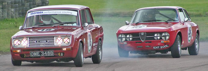 Classic Saloons and Historic Touring Cars