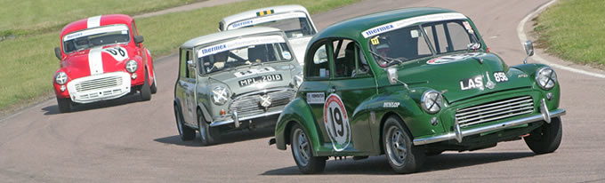 Classic Saloon Racing at Lydden Hill